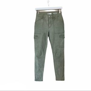Hollister high rise super skinny cargo pants